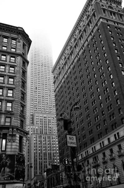 Wall Art - Photograph - Empire State Fog by John Rizzuto
