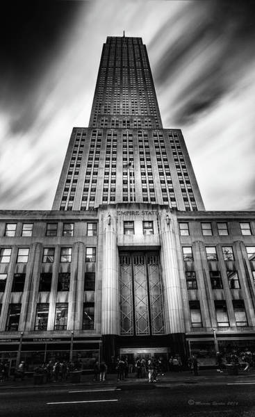 Wall Art - Photograph - Empire State by Marvin Spates