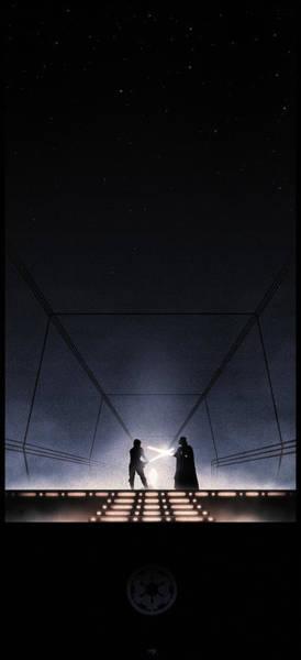 Jedi Digital Art - Empire Strikes Back by Colin Morella