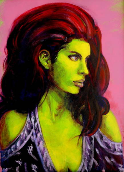 Painting - Empress At Rest by Jason Reinhardt