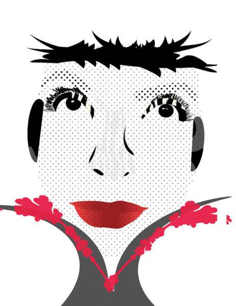 Digital Art - Empress by Maria Reverberi