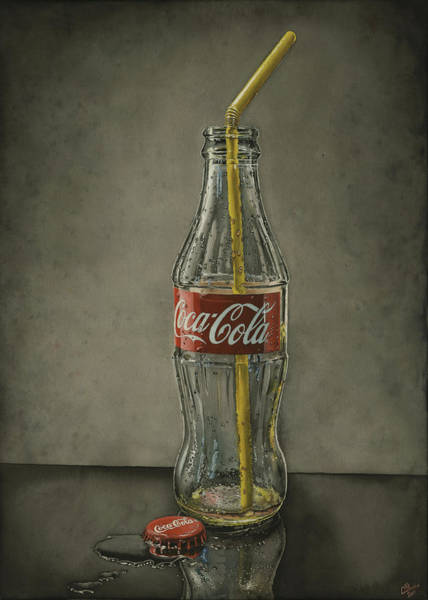 Coca Cola Painting - Emptiness by Mikhail Starchenko