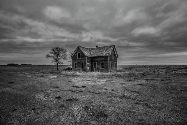 Abandoned House Wall Art - Photograph - Empty  by Aaron J Groen