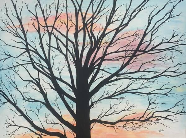 Angel Oak Painting - Empty Beauty by Vikki Angel