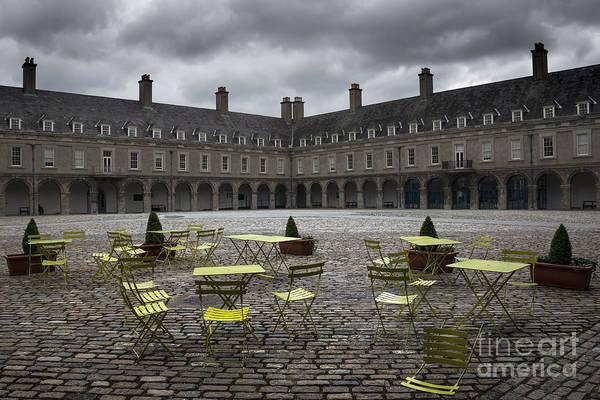 Brick House Mixed Media - Empty Cafe by Svetlana Sewell