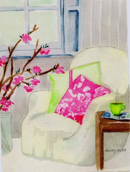 Wall Art - Painting - Empty Chair Series 2 by Melody Allen