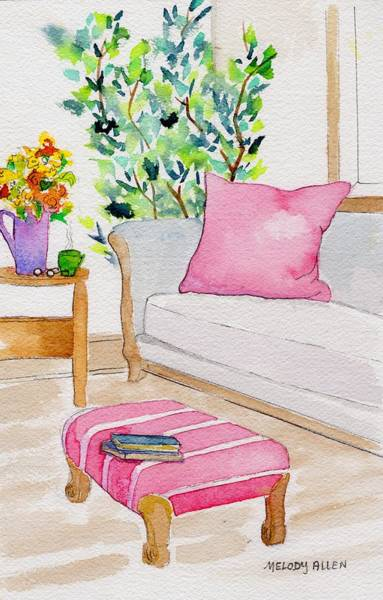 Wall Art - Painting - Empty Chair Series 3 by Melody Allen
