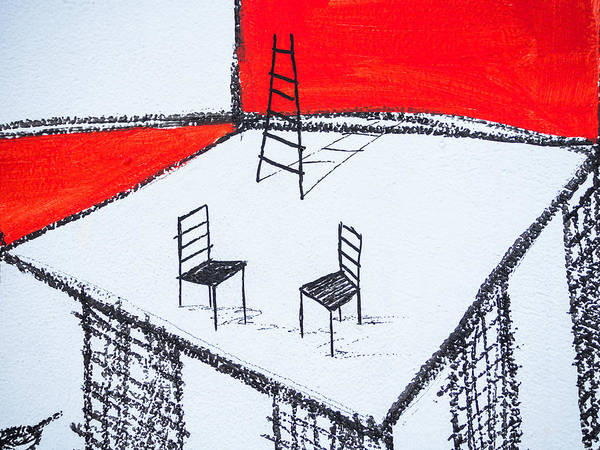 Photograph - Empty Chairs by Robin Zygelman