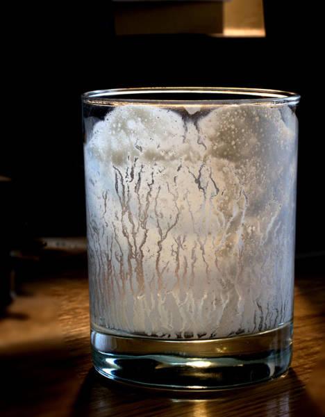 Clarity Digital Art - Empty Glass by Aliceann Carlton