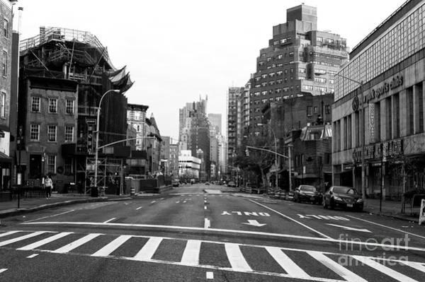 Photograph - Empty Greenwich Village Street by John Rizzuto
