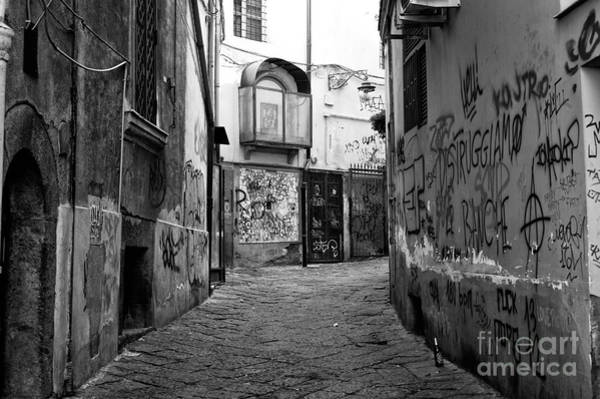 Photograph - Empty In Naples by John Rizzuto