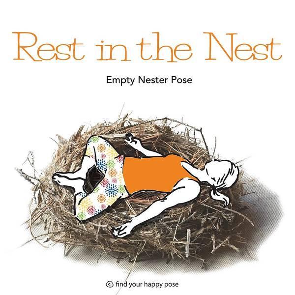 Empty Nest Wall Art - Digital Art - Empty Nester by Patti And Lori