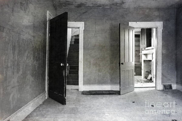Photograph - Empty Rooms by Debra Fedchin