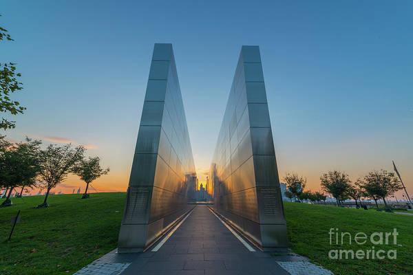 Nine Eleven Photograph - Empty Sky Memorial  by Michael Ver Sprill