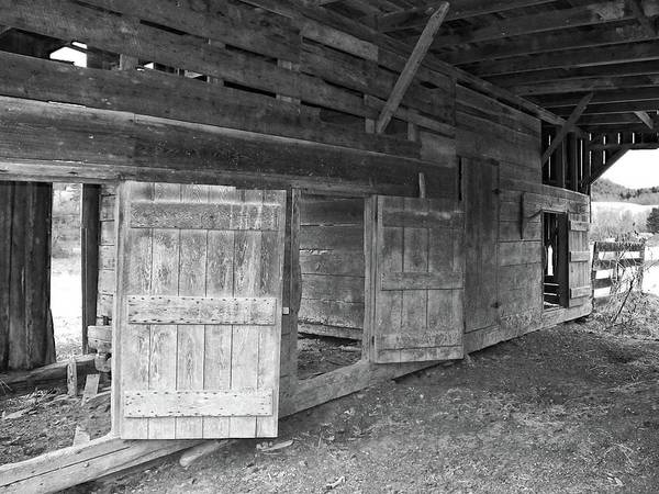 Photograph - Empty Stalls by Susan Leggett