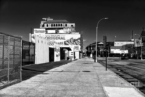 Wall Art - Photograph - Empty Stillwell Avenue by John Rizzuto