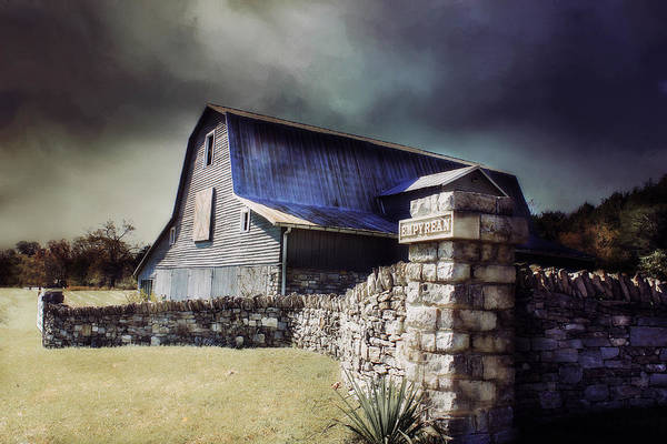 Barn Swallow Wall Art - Photograph - Empyrean Estate Stone Wall by Julie Hamilton