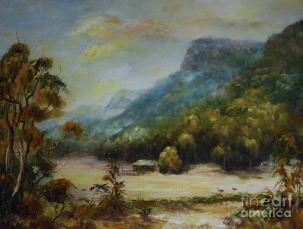 Painting - Emu Plains, Grampians by Ryn Shell