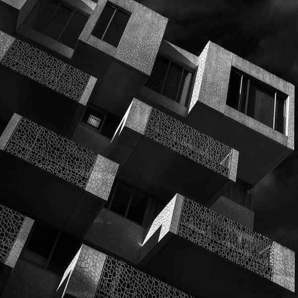 Balcony Photograph - En Bloc by Gilbert Claes