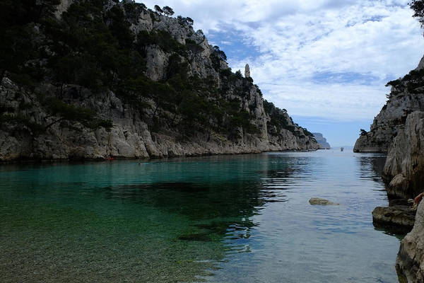 Photograph - En Vau Calanques by August Timmermans