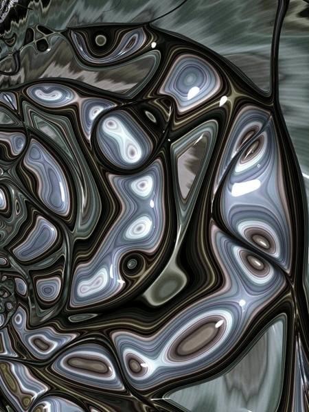 Wall Art - Digital Art - Enamelled by Amanda Moore