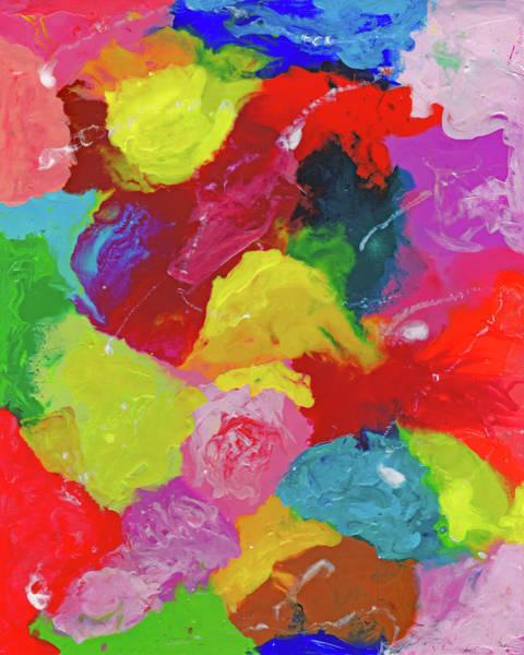 Painting - Encaustic  Color  Study by Carl Deaville