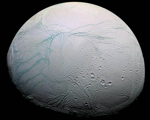 Photograph - Enceladus Hd by Adam Romanowicz