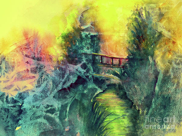 Painting - Enchanted Bridge by Allison Ashton