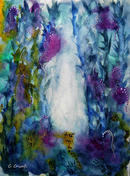 Painting - Enchanted Forest by Carol Crisafi