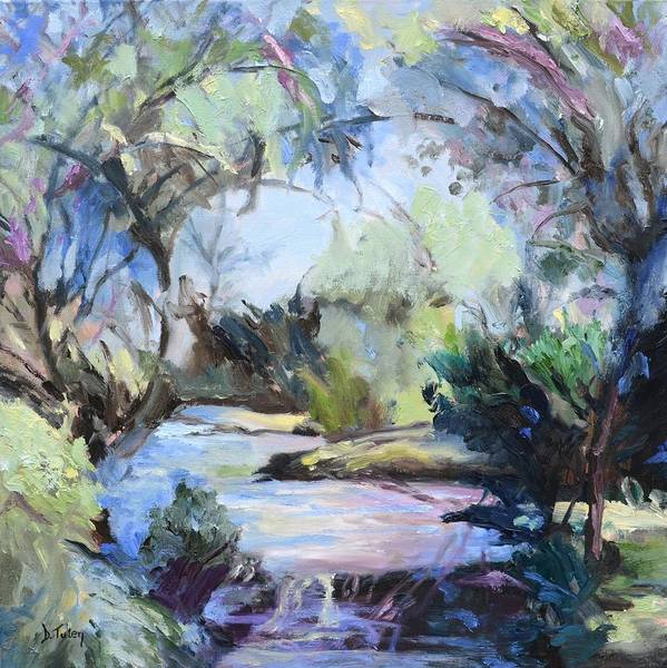 Painting - Enchanted Forest by Donna Tuten