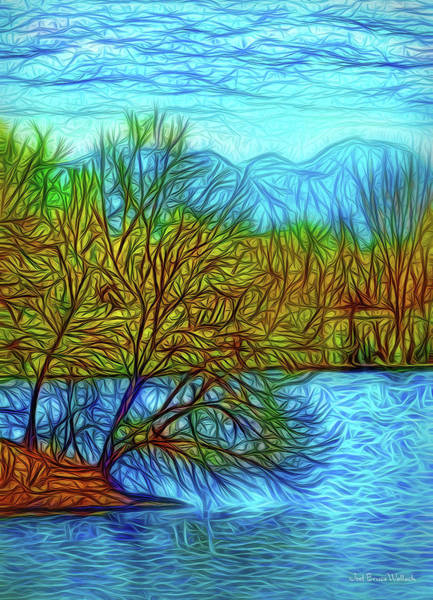 Digital Art - Enchanted Island Tree by Joel Bruce Wallach