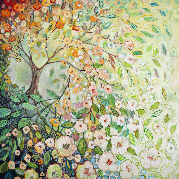 Dogwood Painting - Enchanted by Jennifer Lommers