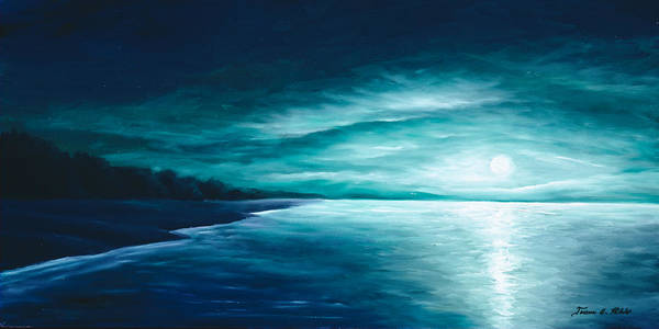 Painting - Enchanted Moon I by James Christopher Hill
