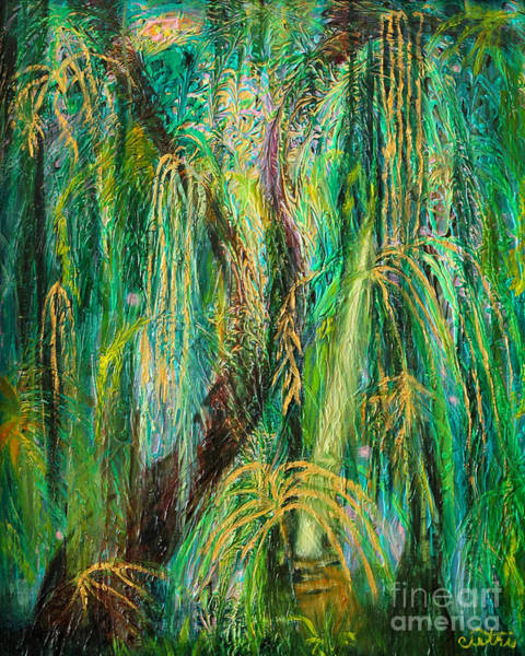 Painting - Enchanted Rain Forest by Anne Cameron Cutri