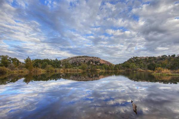 Enchanted Rock State Park Photograph - Enchanted Rock Autumn Skies 1 by Rob Greebon
