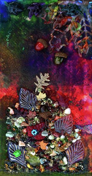Wall Art - Mixed Media - Enchanted Twilight by Donna Blackhall