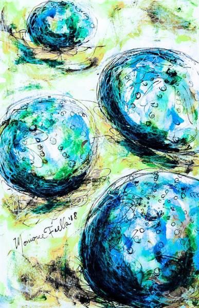 Enchanthing Sea Urchins Art Print