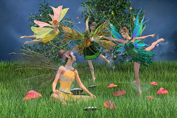 Tale Digital Art - Enchanting Souls by Betsy Knapp