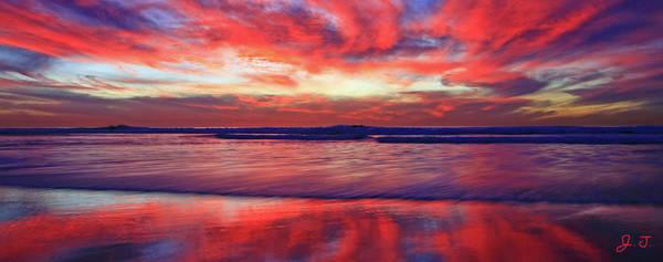 Photograph - Encinitas Afterglow by John F Tsumas