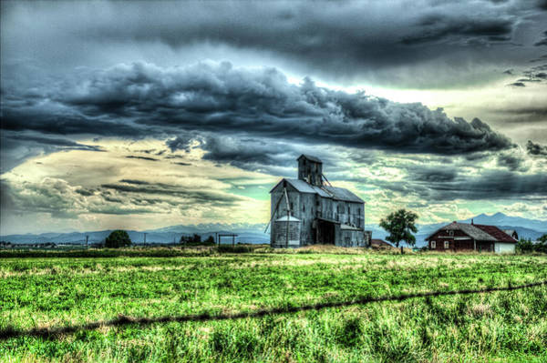 Photograph - Encroaching Storms by Tyson Kinnison