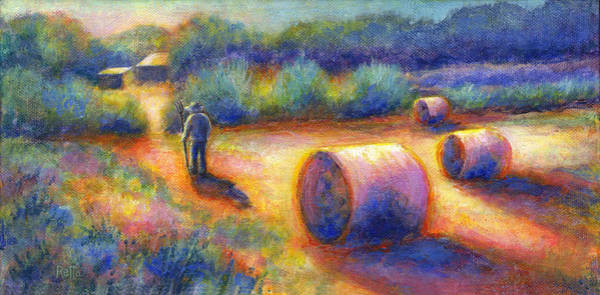 Painting - End Of A Well Spent Day by Retta Stephenson