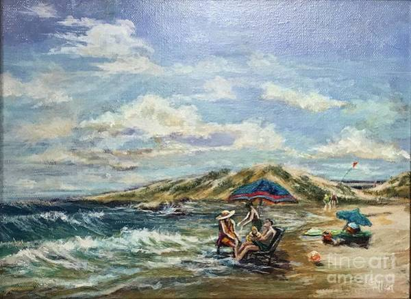 Painting - End Of Beach Day  by Gail Allen