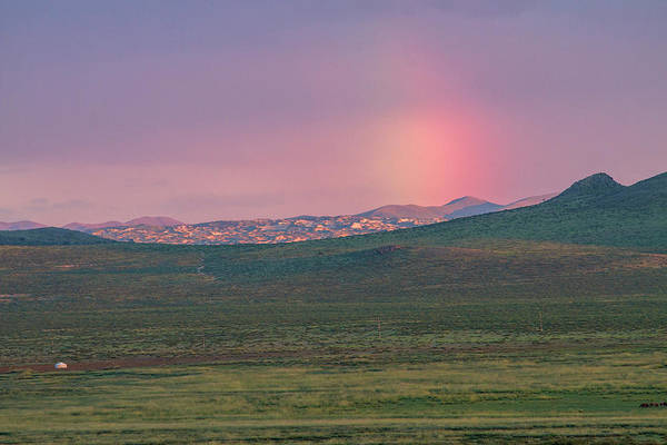 Photograph - End Of Rainbow by Hitendra SINKAR