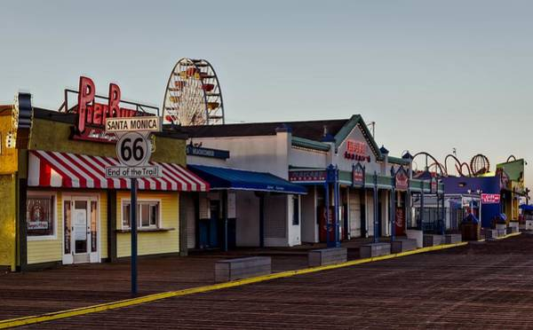 Pier 66 Photograph - End Of Route 66 by Vladimir Kudinov