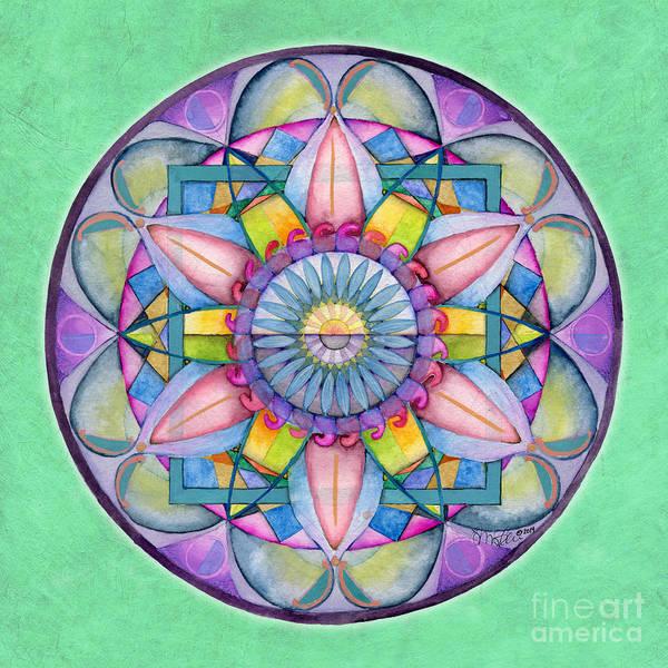 Painting - End Of Sorrow Mandala by Jo Thomas Blaine