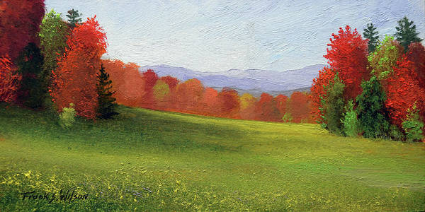 Painting - End Of Summer by Frank Wilson