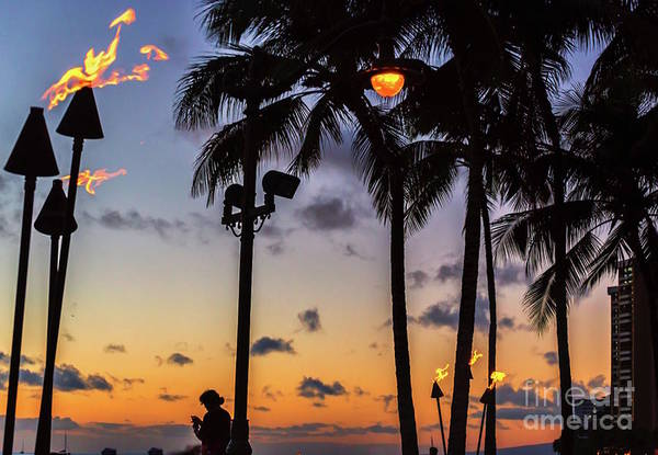 Photograph - End Of The Beutiful Day.hawaii by Sal Ahmed