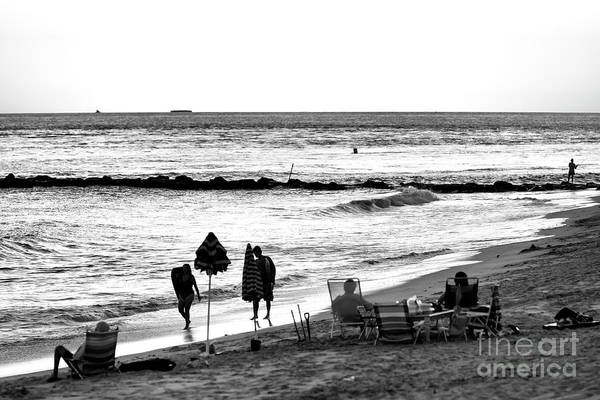 Photograph - End Of The Day At Cape May by John Rizzuto