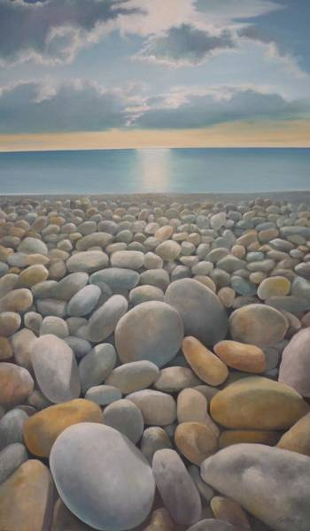 Painting - End Of The Day by Caroline Philp