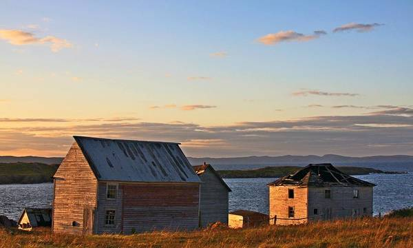 Photograph - End Of The Day In Trinity Bay, Newfoundland by Tatiana Travelways